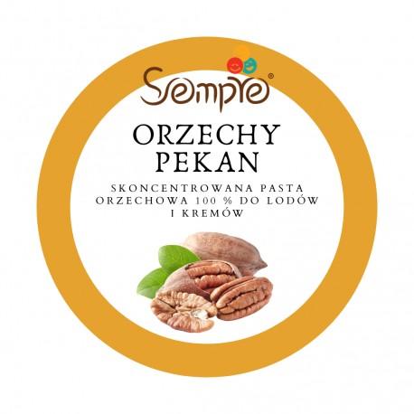 250g ORZECHY PEKAN skoncentrowana pasta 100% do lodów i kremów Sempre