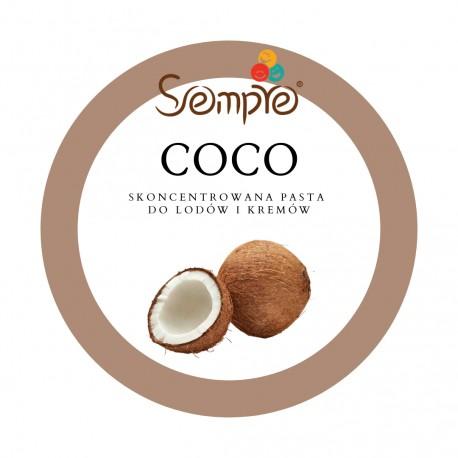 250g COCO skoncentrowana pasta kokosowa do lodów i kremów Pernigotti