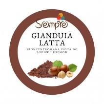 250g GIANDUIA LATTA skoncentrowana pasta o smaku kakao i orzechów laskowych Pernigotti