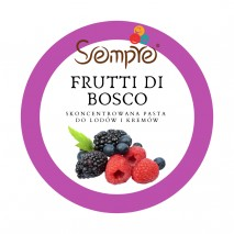 250g FRUTTI DI BOSCO skoncentrowana pasta owoce leśne Pernigotti