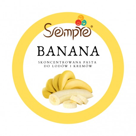 250g BANANA skoncentrowana pasta bananowa Pernigotti
