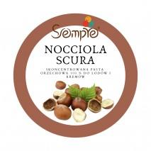 250g NOCCIOLA SCURA skoncentrowana pasta orzech laskowy 100% Pernigotti