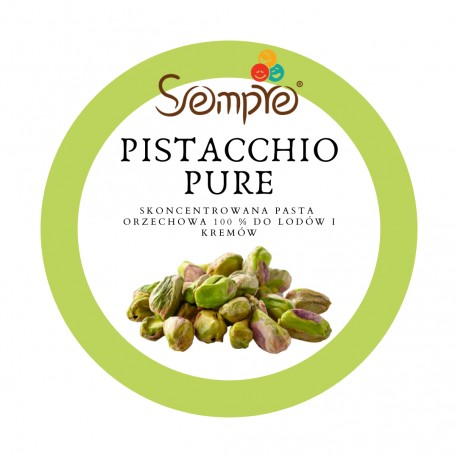 250g PISTACCHIO PURE skoncentrowana pasta pistacjowa 100% Pernigotti