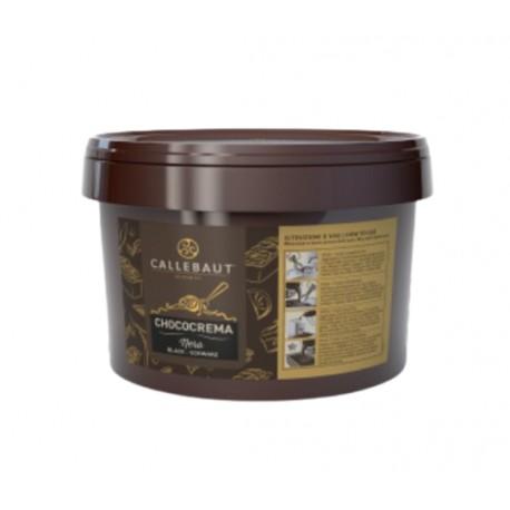 3kg CHOCO CREMA NERO FND-M0938-U50 Nadzienie z ciemnej czekolady do lodów Callebaut