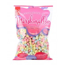 500g MARSHMALLOWS MINI MIX kolorowe pianki mini 10/15 mm 20269 Modecor