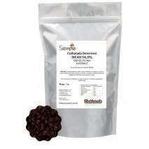 1kg Czekolada 54,3% CIEMNA/DESEROWA EASYMELT CHD-Q11PL-86A SICAO