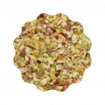 500g Orzechy pistacjowe prażone rozdrobnione kostka 2-4 mm Bonus