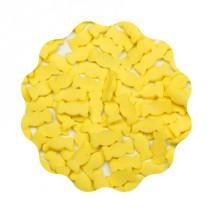 1kg CUKIERKI ŻÓŁTE konfetti cukrowe 10 mm Sweet Decor