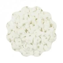 1kg JEDNOROŻCE BIAŁE konfetti cukrowe 11 mm Sweet Decor