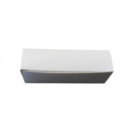 1 szt. Pudełko na makaroniki 45/155/45 mm kartonowe białe UNI-PACK