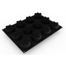 PX4384 SAINT HONORE forma silikonowa na 12 monoporcji Pavoni