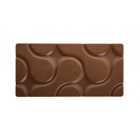 FLOW Forma do tabliczek czekolady z poliwęglanu PC5007 Pavoni