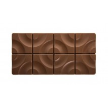 TARGET Forma do tabliczek czekolady z poliwęglanu PC5008 Pavoni