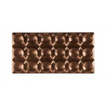 BRICKS Forma do tabliczek czekolady z poliwęglanu PC5010 Pavoni