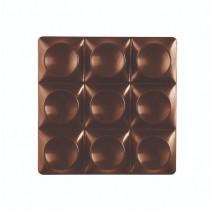 MINI BRICKS Forma do małych tabliczek czekolady z poliwęglanu PC5013 Pavoni
