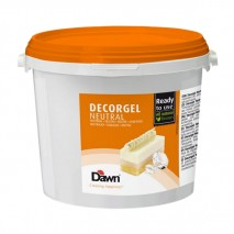 3kg DECORGEL NEUTRAL neutralna glazura dekoracyjna 8.00402.312 Dawn