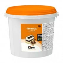 3kg DECORGEL CACAO kakaowa glazura dekoracyjna 8.01416.300 Dawn
