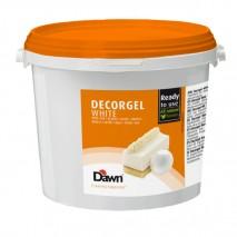 3kg DECORGEL WHITE biała czekolada glazura dekoracyjna 8.00917.304 Dawn