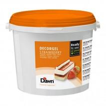3kg DECORGEL STRAWBERRY truskawkowa glazura dekoracyjna 8.00419.301 Dawn