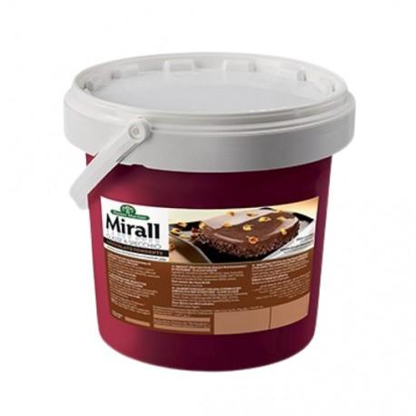 3kg MIRALL CIOCCOLATO FONDENTE glazura dekoracyjna ciemna czekolada AF23EB Master Martini