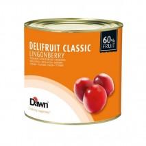 2,7kg DELIFRUIT CLASSIC LINGONBERRY nadzienie owocowe borówka czerwona 8.00587.333 Dawn