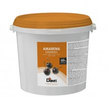 5kg AMARENA CHERRIES ciemne wiśnie w syropie do dekoracji 2.03046.116 Dawn
