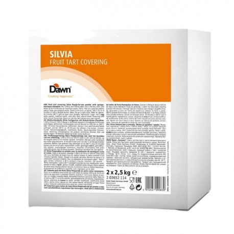 2,5kg SILVIA FRUIT TART COVERING gotowa mieszanka do bezy w proszku 2.03652.114 Dawn