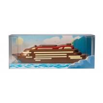 175 g Statek wycieczkowy z mlecznej czekolady 65677 CCW