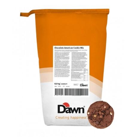 12,5kg CHOCOLATE AMERICAN COOKIE MIX baza na ciastka czekoladowe w proszku 0.02395.871 Dawn
