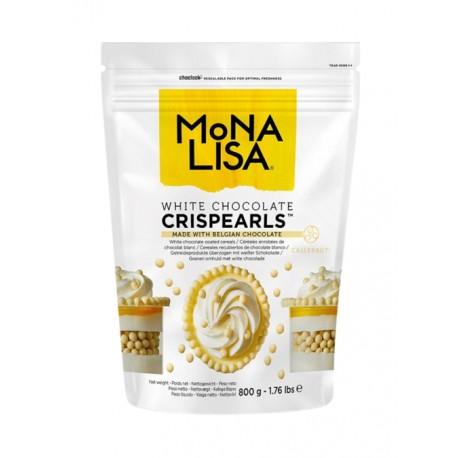 800g Crispearls™ White Chrupiące perełki w białej czekoladzie CHW-CC-CRISPE0-02B Mona Lisa Callebaut