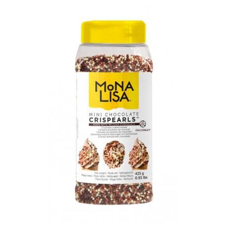 425g Mini Chocolate Crispearls™ CHX-CC-MCRISE0-1000 Mona Lisa Callebaut