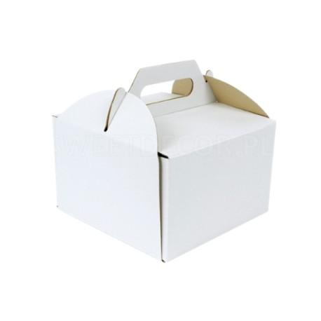 26/26/25 cm kartonowe wysokie opakowanie na tort z rączką Sweet Decor