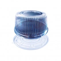 5400 ml Opakowanie na ciasto RP1225PET/PS ROSANPAK zestaw taca z pokrywką