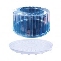 4300 ml Opakowanie na ciasto RP1442/1440PET/PS ROSANPAK zestaw taca z pokrywką