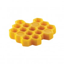 MIEL 8 SILIKOMART 36.347.87.0065 Ø45 mm forma silikonowa plastry miodu