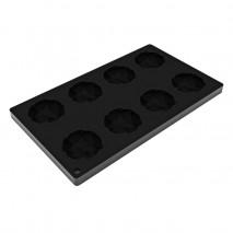 MINI ALMONDS TOP22 PAVONI ∅ 60 mm forma silikonowa do dekoracji migdały
