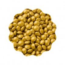 40g LENTILKI ZŁOTE METALIZOWANE SWEET DECOR czekoladowe draże w kolorze złotym