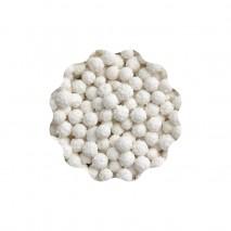 40g PEARLS MIMOSA BIAŁA SWEET DECOR dekoracyjna posypka w kolorze białym