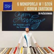 29.04 Sześć Monoporcji w 1 dzień z Igorem Zaritskim / Szkolenie cukiernicze