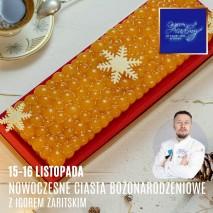 10-11.09.2019 Draże czekoladowe, Pralinki, Nugat Igor Zarytski - Szkolenie Cukiernicze