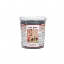 1kg CZARNA masa cukrowa do MODELOWANIA figurek DEC026K1 Saracino