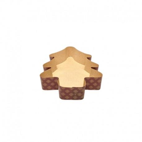 FORMA AB0 CHOINKA MAŁA NOVACART 160 x 140 x h 35 mm papierowa forma w kształcie choinki