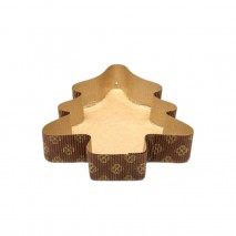 FORMA AB1 CHOINKA DUŻA NOVACART 312 x 224 x h 60 mm papierowa forma w kształcie choinki
