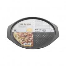 ∅ 32 cm BLASZKA DO PIZZY 881 228 BIRKMANN okrągła perforowana forma do wypieku pizzy
