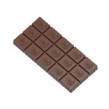 1994CW FORMA KONOPIE CHOCOLATE WORLD forma z poliwęglanu do tabliczek czekolady z wzorem konopi