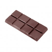 2299CW FORMA TABLICZKA CZEKOLADY CHOCOLATE WORLD forma z poliwęglanu do klasycznych tabliczek czekolady