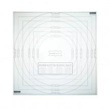 MATA DO WAŁKOWANIA LUKRU SDIICINGMAT KITCHEN CRAFT dwuczęściowa mata 50 x 50 cm z podziałką wykonana z PVC