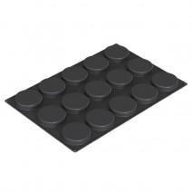 SQ074 DISCO 40.474.20.0000 SILIKOMART duża forma silikonowa na 15 dysków ∅ 100 mm