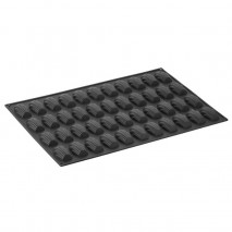 PX006 MADELEINE PAVONI duża forma silikonowa na 44 magdalenki o wymiarach 78 x 45 x h 18 mm
