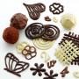 Zestaw do dekoracji z czekolady DECOMAT